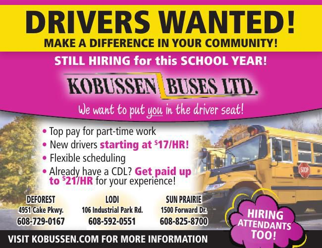 Kobussen Drivers Wanted
