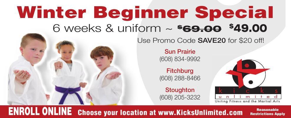Kicks Unlimited Winter Special