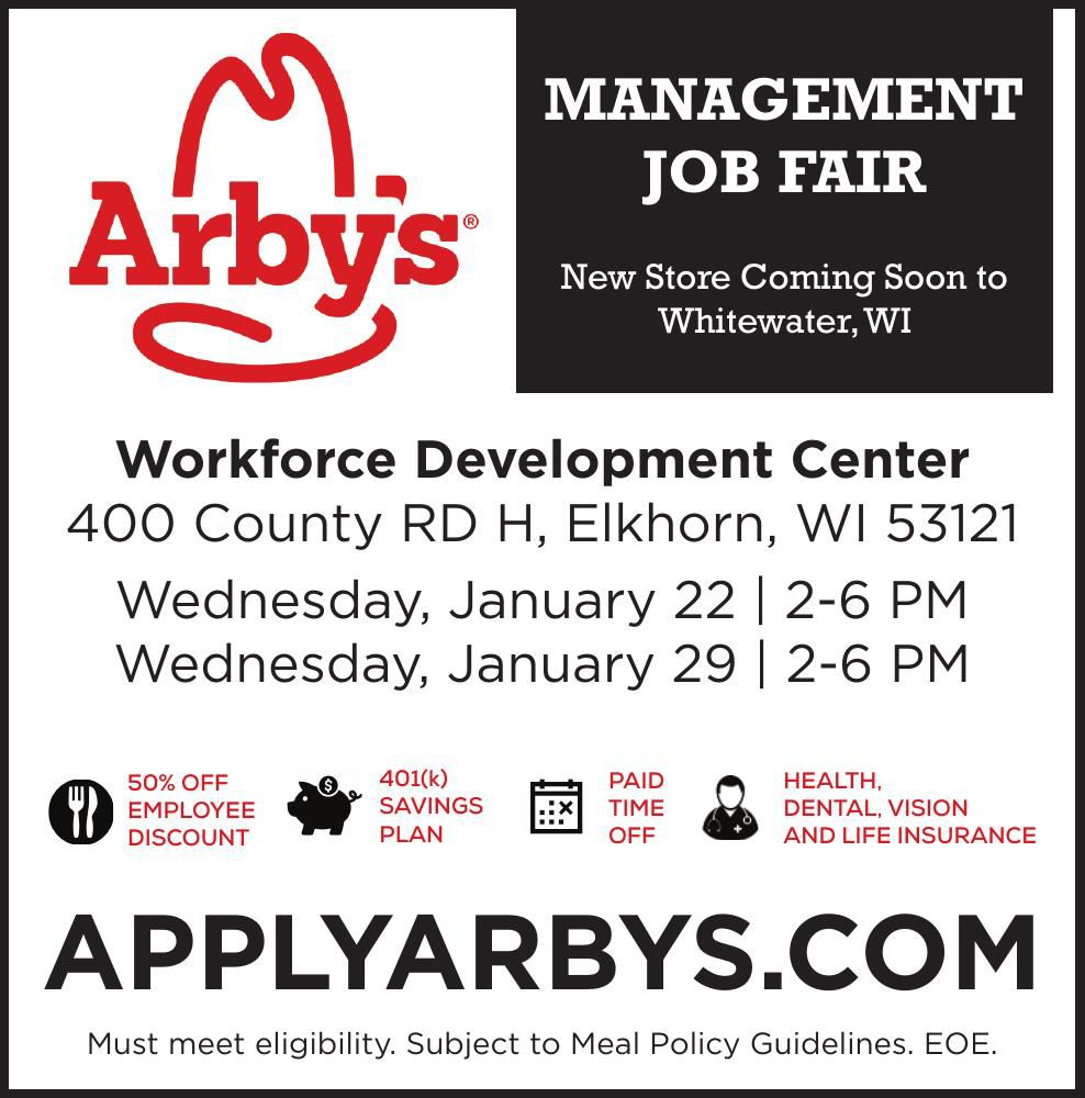 Arby's Management Job Fair