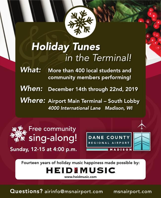 Holiday Tunes in teh Terminal