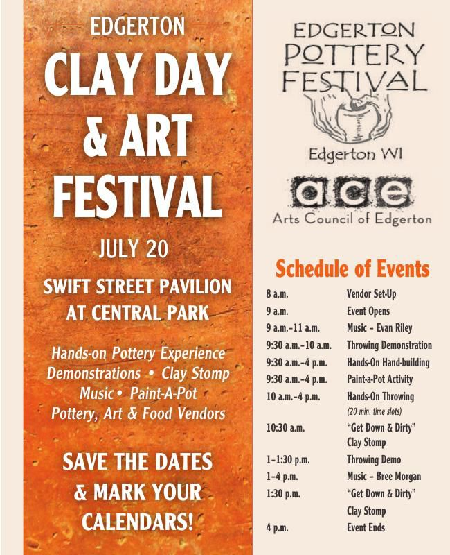 Clay Day & Art Festival