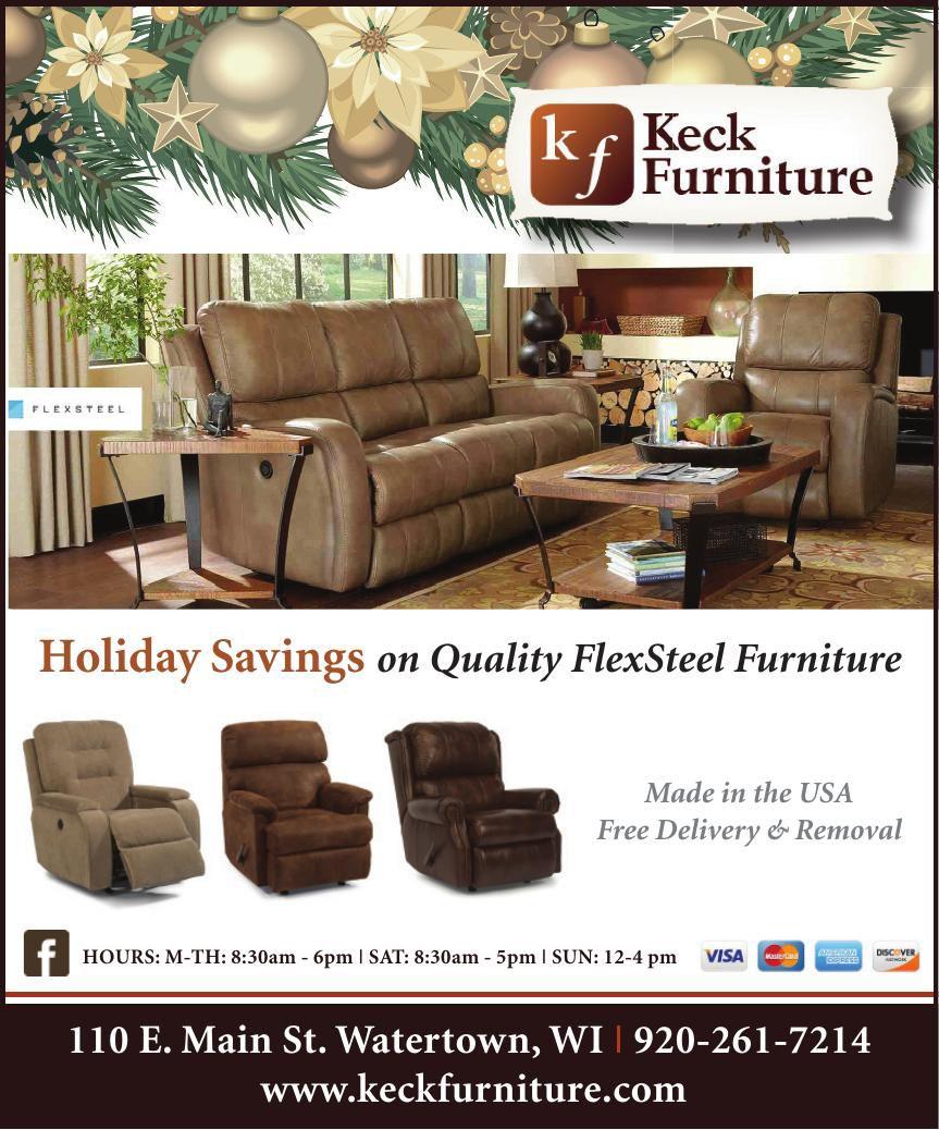 Keck Furniture Holiday Savings