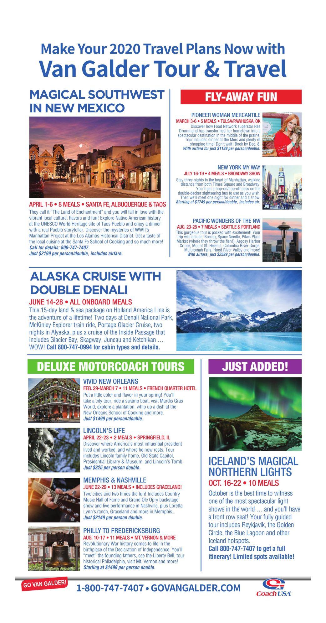 2020 Van Galder Tour & Travel