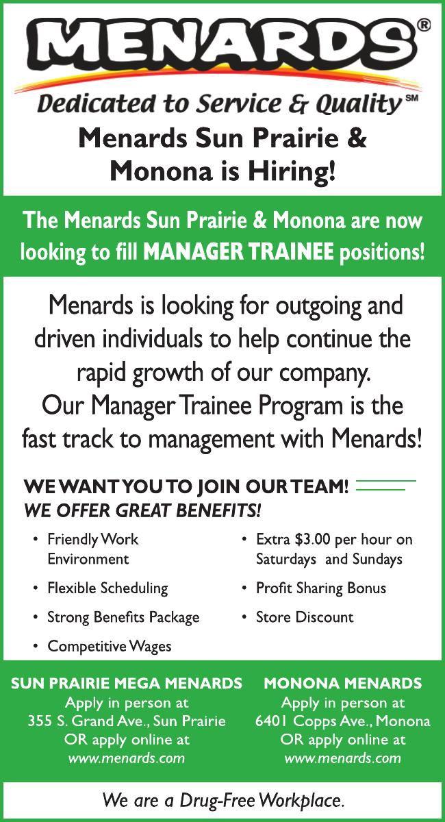 Menards Sun Prairie & Monona