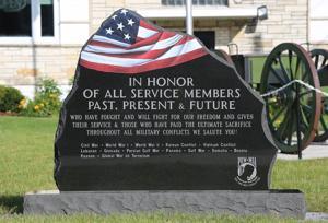Military Memorial Stone