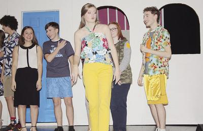 'Legally Blonde' in rehearsal