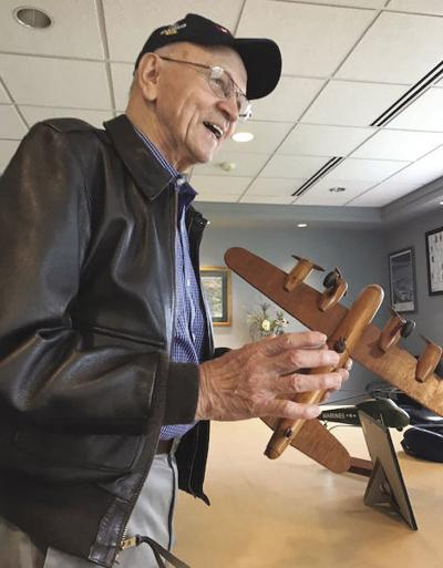 Marine Corps veteran pilot honored