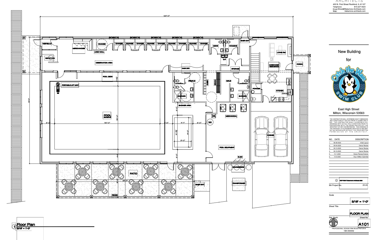 Catch the Wave Swim Club floor plan