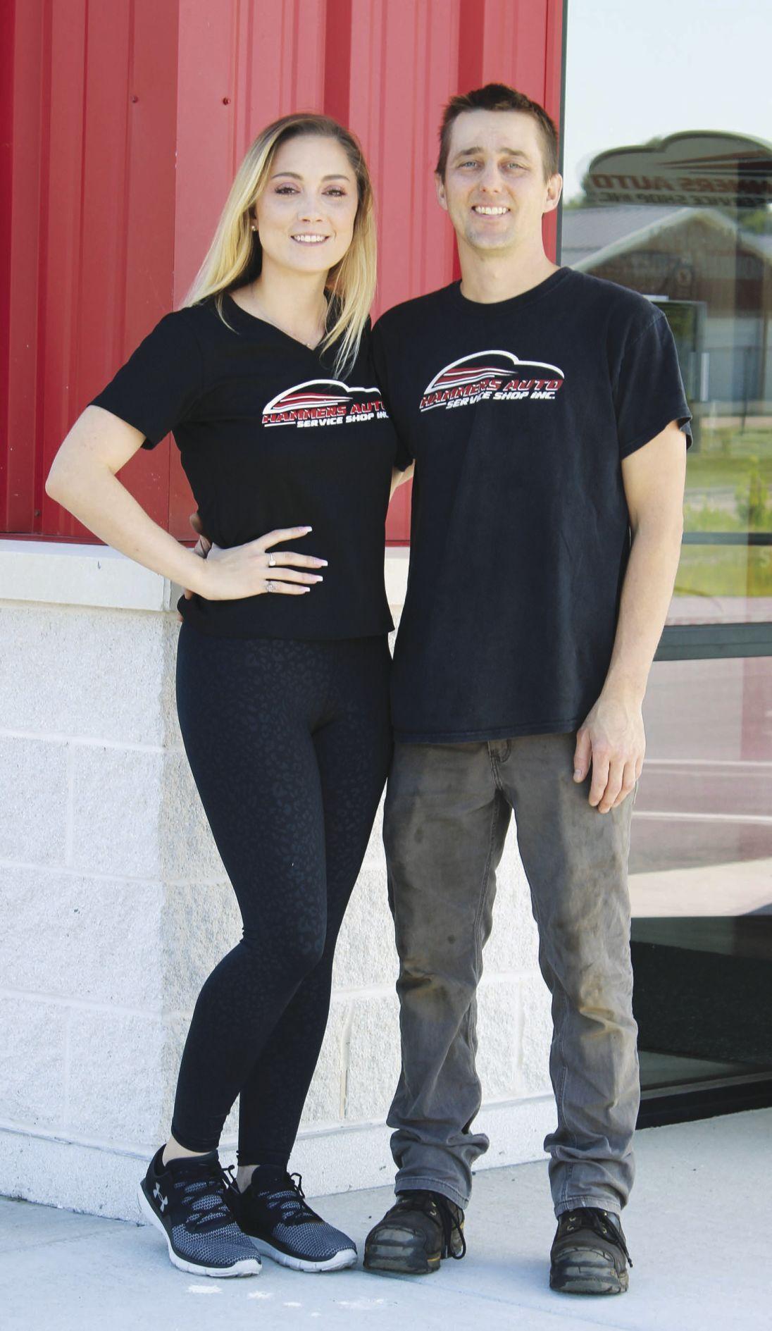 Jessica and Nick Hammer