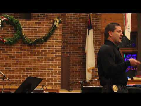 Civilian Response to Active Shooter Events presentation at Lodi Methodist Church
