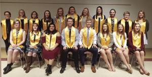 National Honor Society members