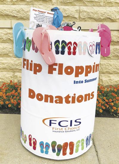 7th annual Flip Floppin' Into Summer drive