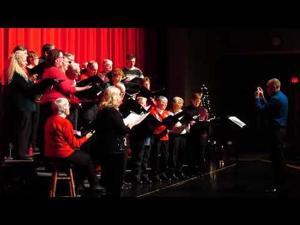 """""""Holiday Road"""" -- SP Area Chorus at Holiday Magic Concert 12-9-2017"""
