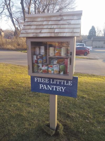 Free Little Pantry on Cottage Grove Road