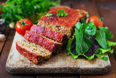 Kitchen Diva: Homemade ground meatloaf with vegetables