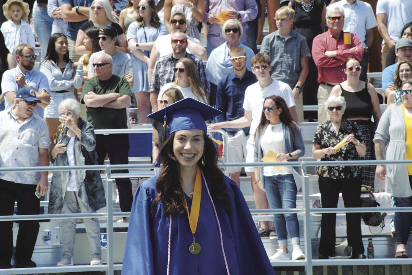 Lake Mills High School graduation