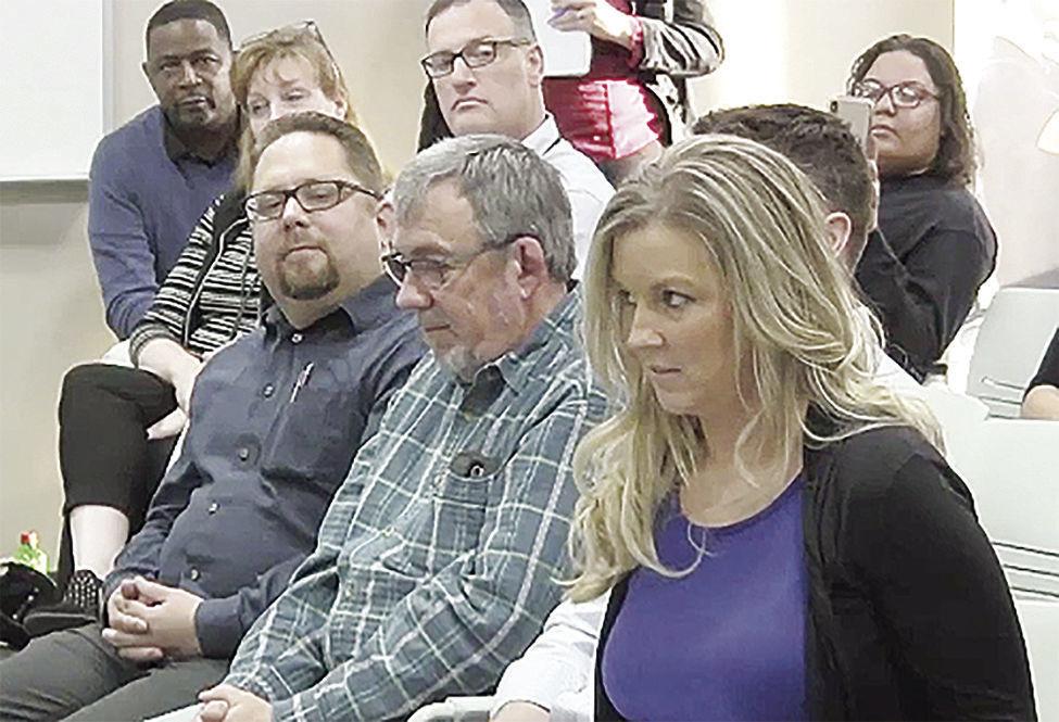Kris Ganske at May 13, 2019 school board meeting