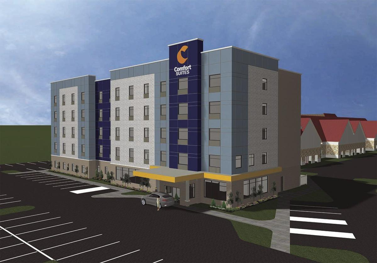 Final plans for Comfort Suites hotel approved
