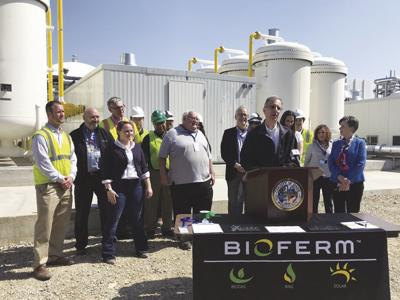County cuts ribbon on new biogas facility | News | hngnews com