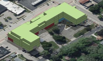 BMO Harris Bank Mixed Use Blueprint/layout