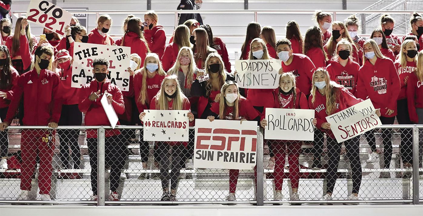 SPHS fans in stands