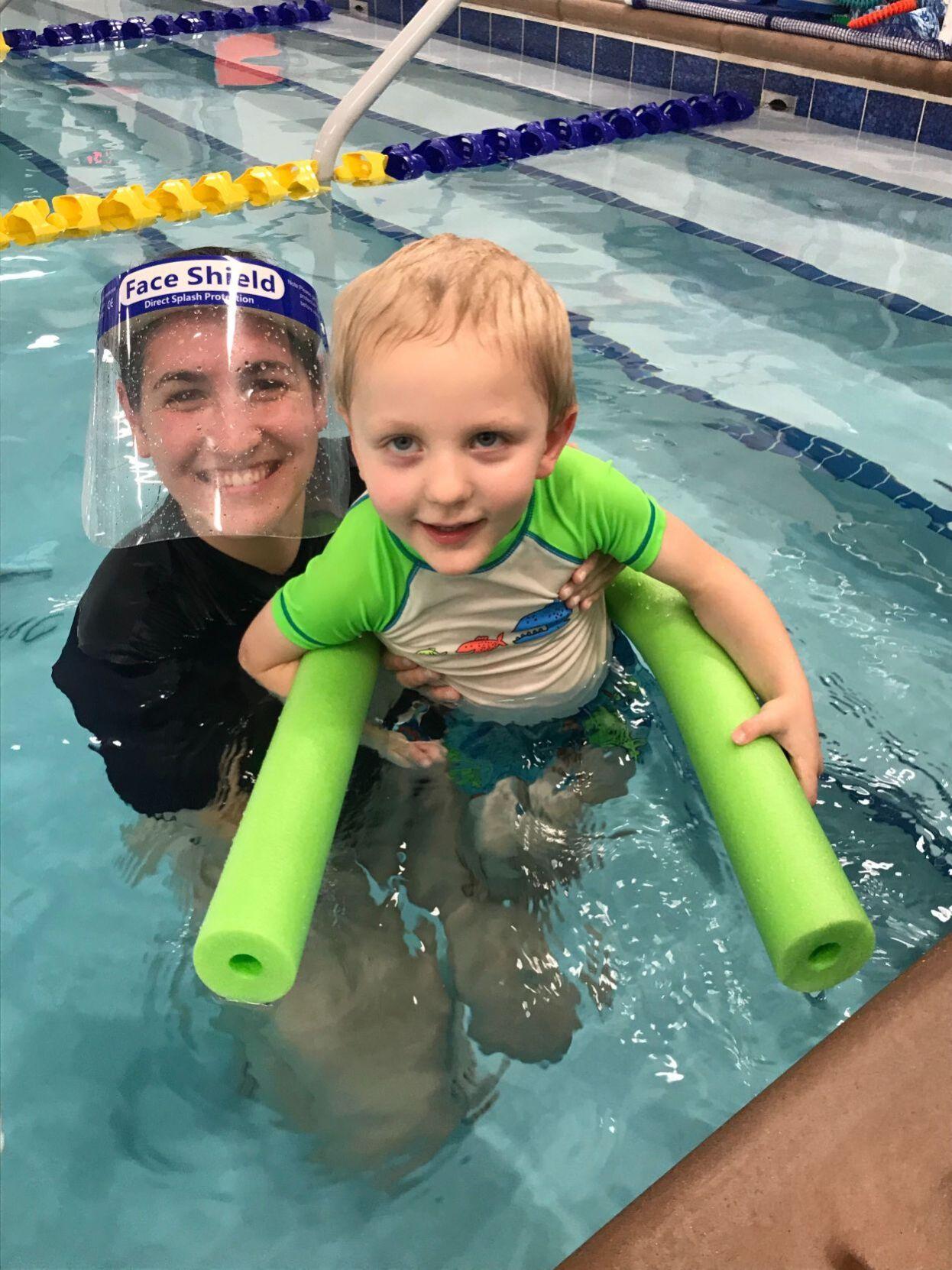Foss focuses on teaching lifelong swim skills