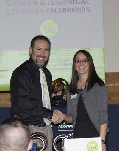 Waterloo native honored by Lakeshore Technical College