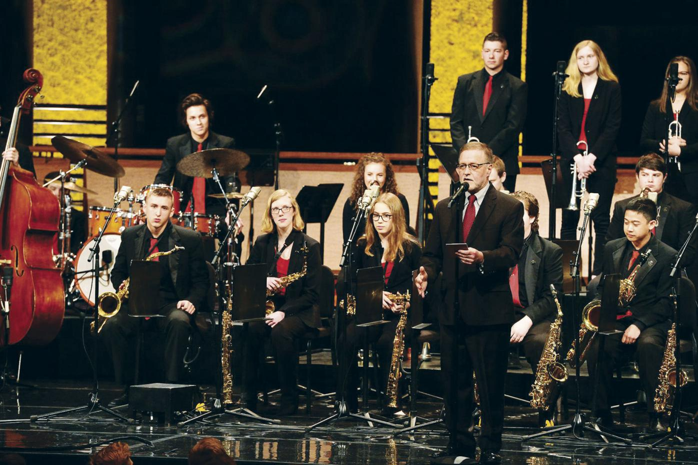 SPHS Jazz Band at EE (2018)