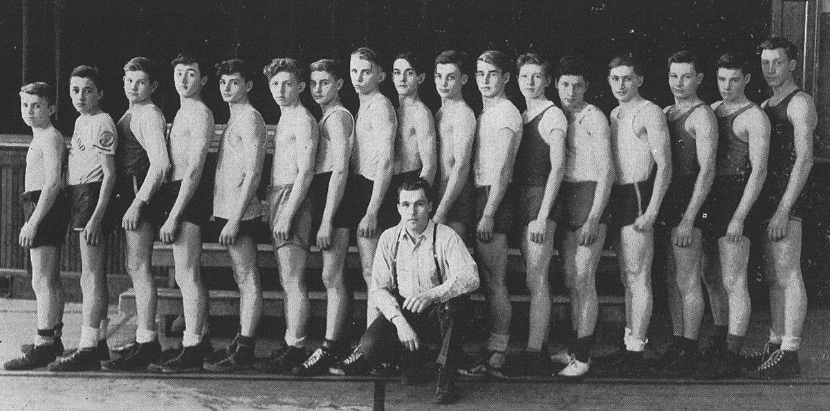 1945 Lodi Boxing Team