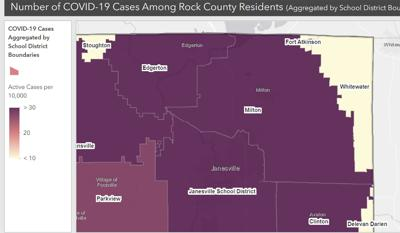 Oct. 8, 2020, COVID-19 in Rock Co. School Districts