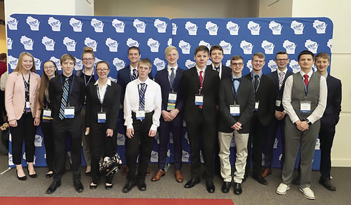 Three Waterloo students advance to nationals for FBLA