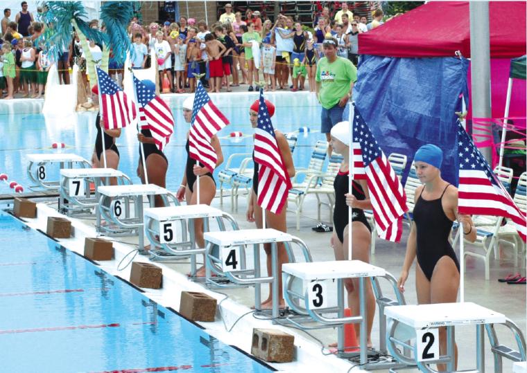 Tri-county Swim Meet, 2006