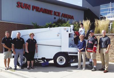 New Sun Prairie Ice Arena donation