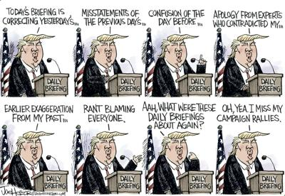 Heller Cartoon -- Briefings (2020)