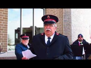 Salvation Army Red Kettle Campaign Kickoff -- 11-10-2017