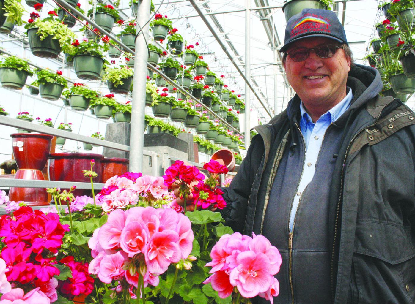 Ed Knapton of America's Best Flowers