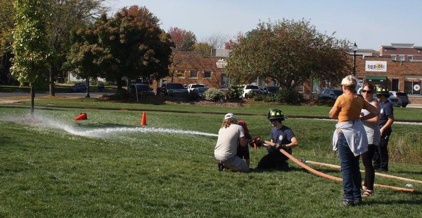 DeForest Fire Department target practice
