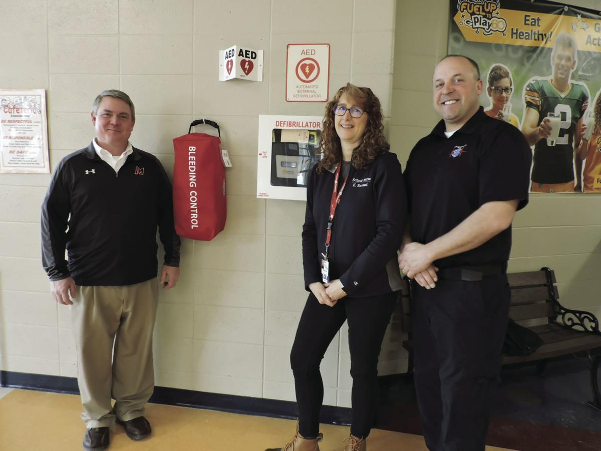 Marshall School District receives emergency blood kits