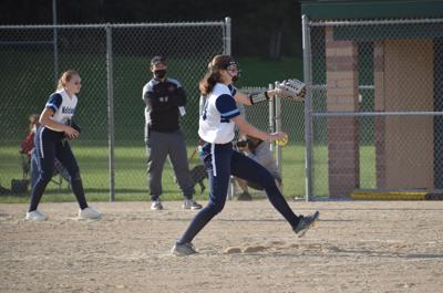 Brynne Bieri pitching