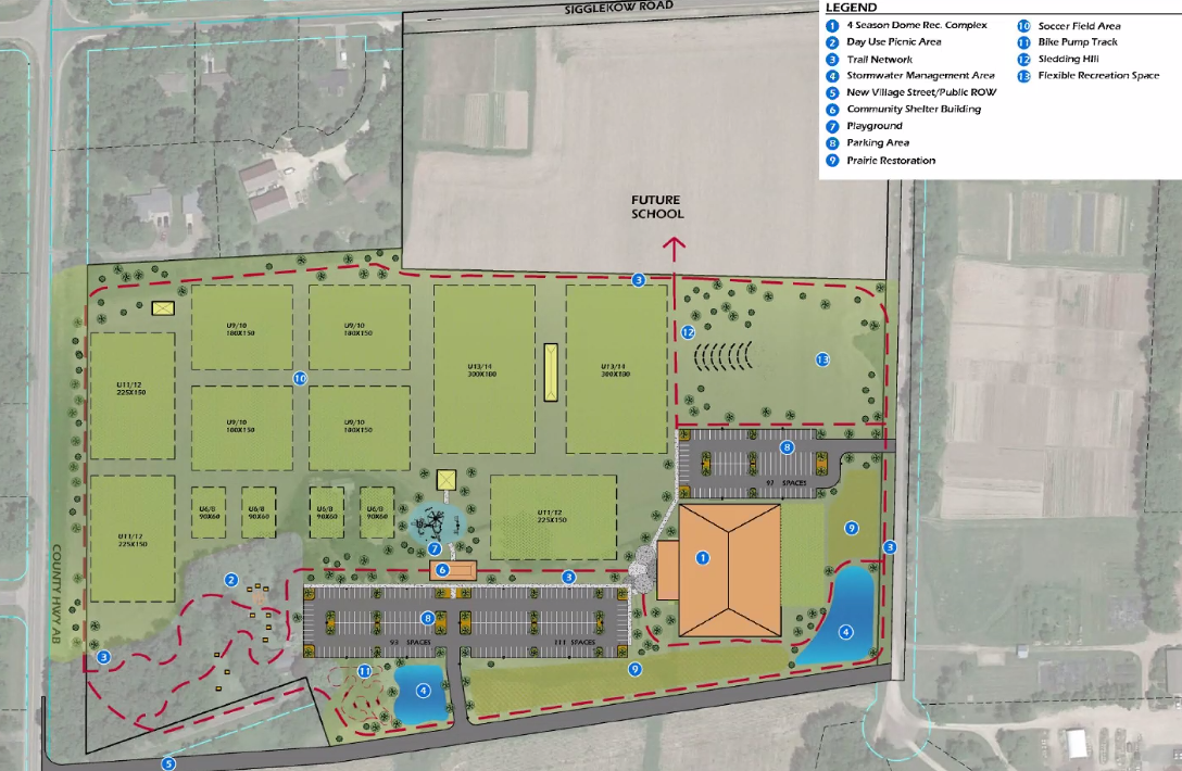 McFarland Community Park, rendering