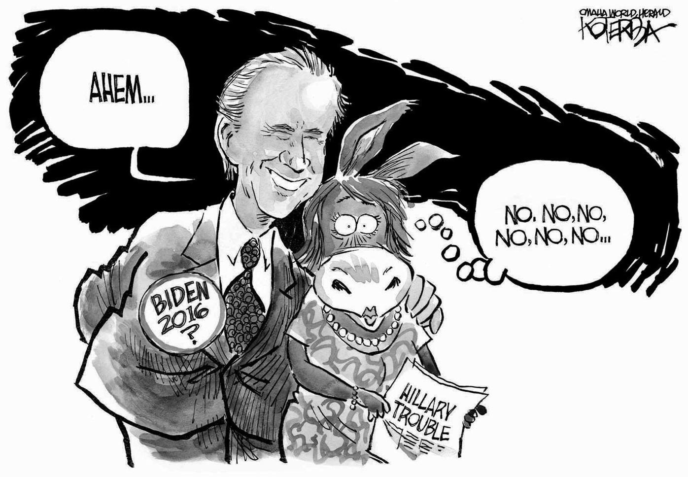 Biden Bad Touch for Democrats (2015)