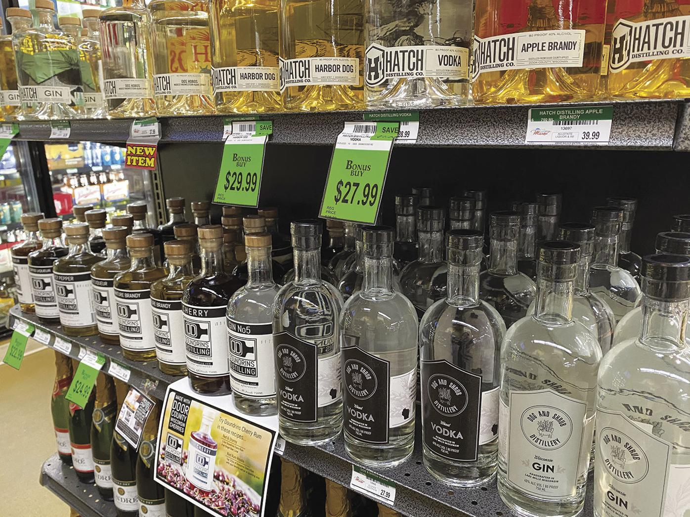 Sale of alcoholic beverages up locally, nationally