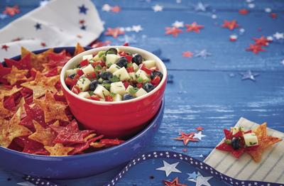 Star-Spangled Salsa and Chips (2020)