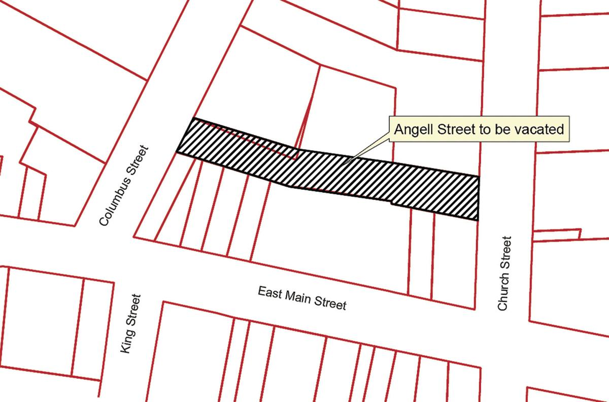 Angell Street to be abandoned