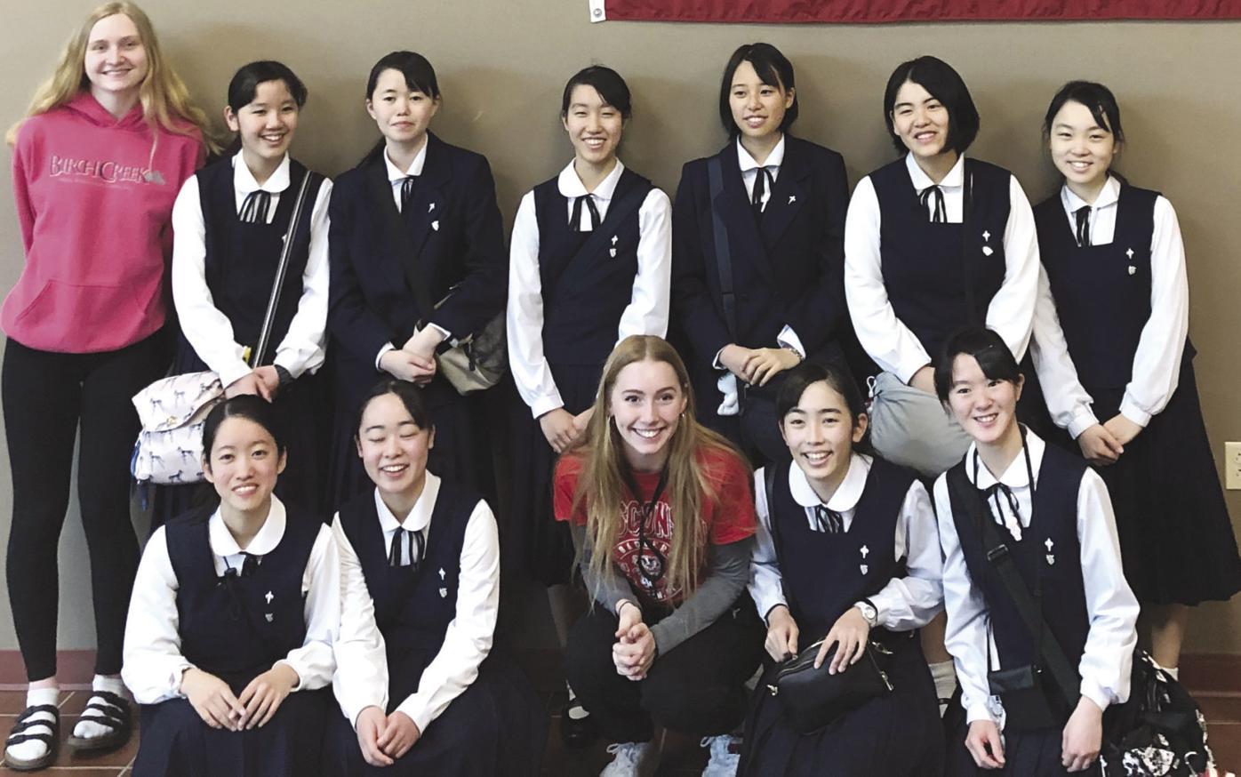 Hikarigaoka All Girls High School students from Japan make a lasting impression