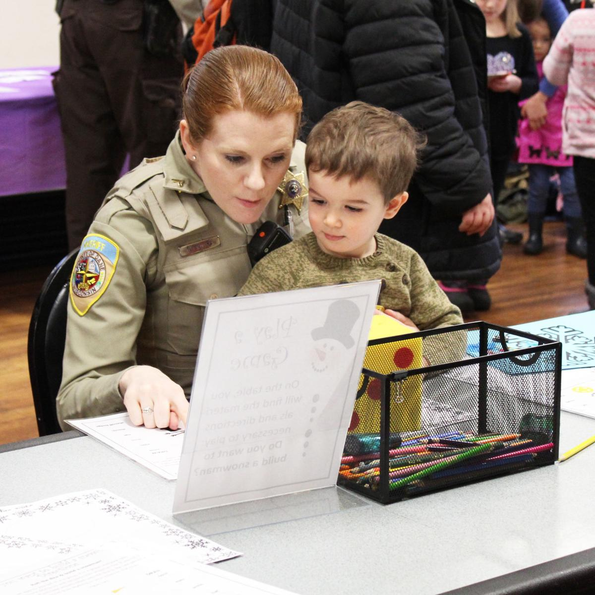 Cookies and Crafts with the Windsor Deputies