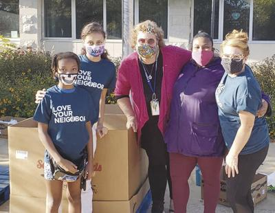 Community Schools focus on families' basic needs during COVID-19