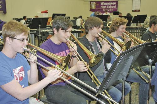 Solo Ensemble practice