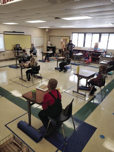 Covid Classroom, CG school