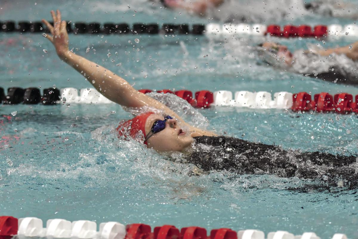 Cramer podiums in backstroke, team swims well at WIAA State